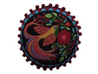 Fiesta Bird of Paradise Cushion