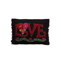 Fiesta Mini Love Cushion (Black)