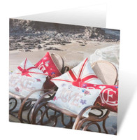 Love seaside greetings card