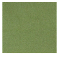Green wool felt square fabric