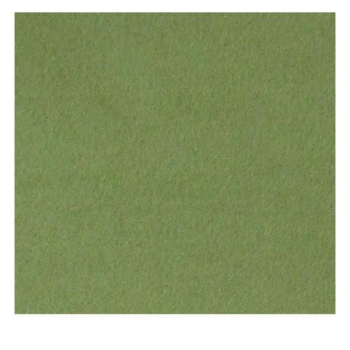 Green wool felt square fabric