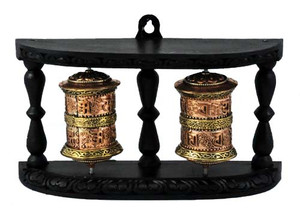 Copper Double Prayer Wheel