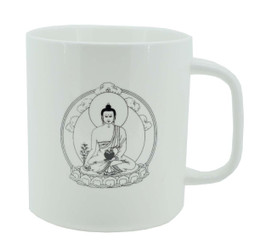 Coffee Mug with Image of the Medicine Buddha, Bhaisajyaguru