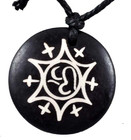 Om Star Necklace