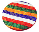 rainbow singing bowl pad