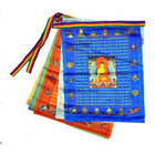 satin prayer flags