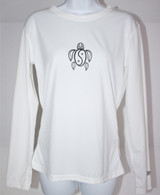 Women's Long Sleeve White Honu UV Shirt