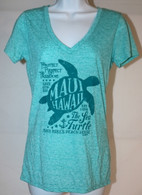 Women's V-Neck Turtle T-Shirt