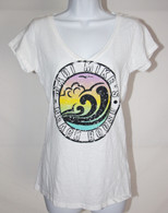 Women's MMBH V-Neck Wave T-Shirts