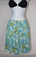Women's Mid Length Floral Beach Skirts/Cover Ups