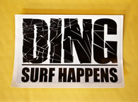 """DING Surf Happens"" Sticker"