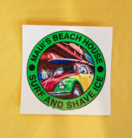 MBH Reggae VW Surf Bug Sticker