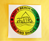 Maui's Beach House Sticker