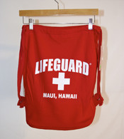 Lifeguard Pull-String Backpack