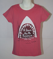 "Girls ""A Shark Ate My Homework"" T-Shirt"