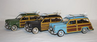 "Old School ""Woody"" Beach Cruiser Collectable Cars"