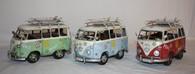 Old School Surf VW Peace & Love Vans