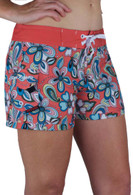 Women's Maui Rippers Floral 4 Way Stretch Board Shorts