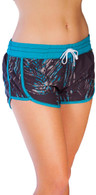 "Maui Ripper Women's ""Peahi Palms"" Hotty Board Shorts"