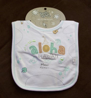 Maui Style Infant Bib in Aloha Hawaii