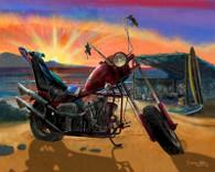 Chopper Cruiser Art