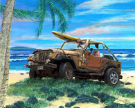 Jeep Wrangler Cruiser Art