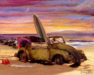 VW Cabriolet Bug Cruiser Art