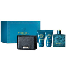VERSACE EROS 4PC (100ML) EDT