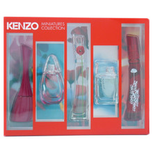 KENZO MINI SET 4PC (5ML) EDP - GIFT SET