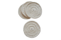 Certified Organic Cotton Awaken Coasters (Set of 4)