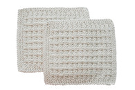 Exfoliating His Wash Cloths – Certified Organic Cotton