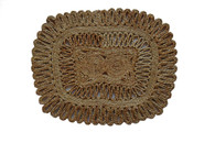 NEW! Natural Jute Harmony Trivet (1 Count)