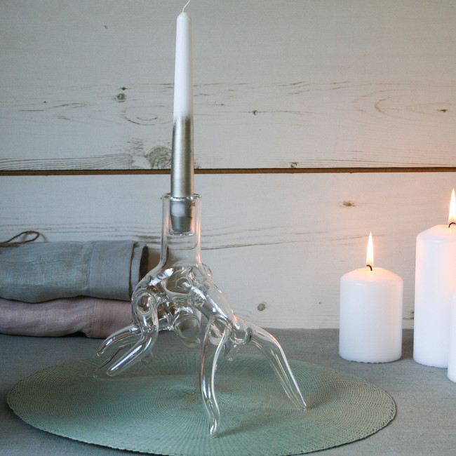 Root Candle Holder