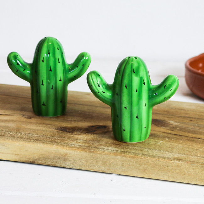 Cactus Salt&Pepper Shakers