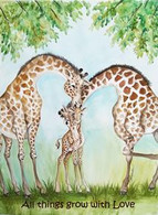 grow with love giraffe