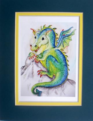 cute dragon print