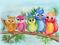 5 cute owls