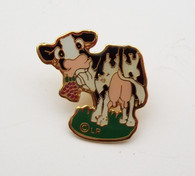 cow lapel pin