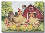 012  chickens  card