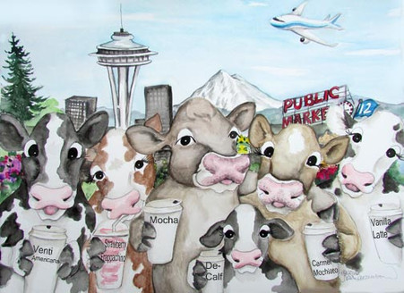 Cows of Seattle