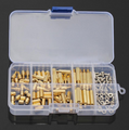 120Pcs M3 Male Female Brass Standoff Kit
