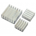 Set of 3 Adhesive Heatsinks For Raspberry Pi