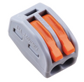 Wago 2 Way Electrical Wire Connector