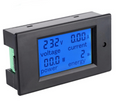 LCD Power Meter with Current Transformer 80-260VAC@100A