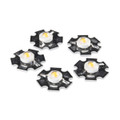 LED - 3W Aluminum PCB (5 Pack, Warm White)