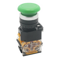 LA38-11M Push Button Switch (Green)
