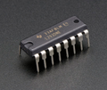 L293D  Dual H-Bridge (16 pin DIP)