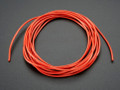 Silicone Cover Stranded-Core Wire - 2m 26AWG Red