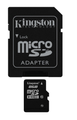 Kingston 8GB microSDHC ( Class 10 ) Flash Card SDC10/8GB