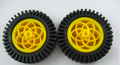 80mm Wheel 1 pair ( works with DG01D gearmotors)